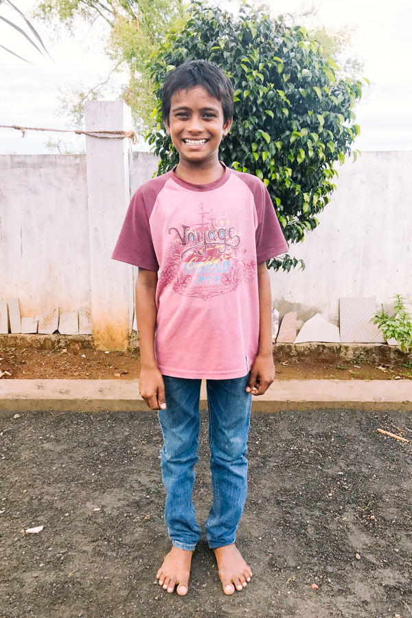Sponsor Sriniva from India