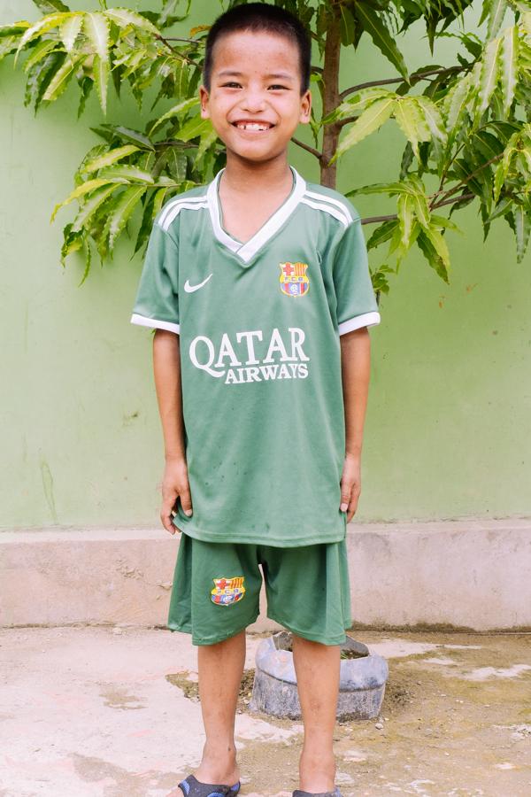 Sponsor David from Myanmar