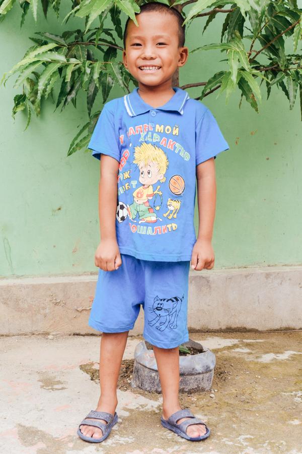 Sponsor Hanaing from Myanmar