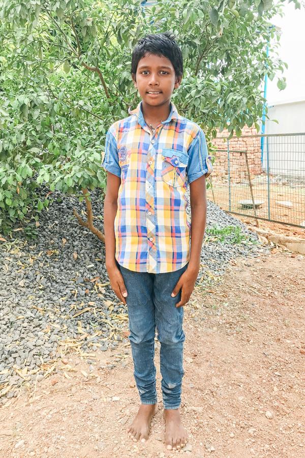 Sponsor Daniel from India