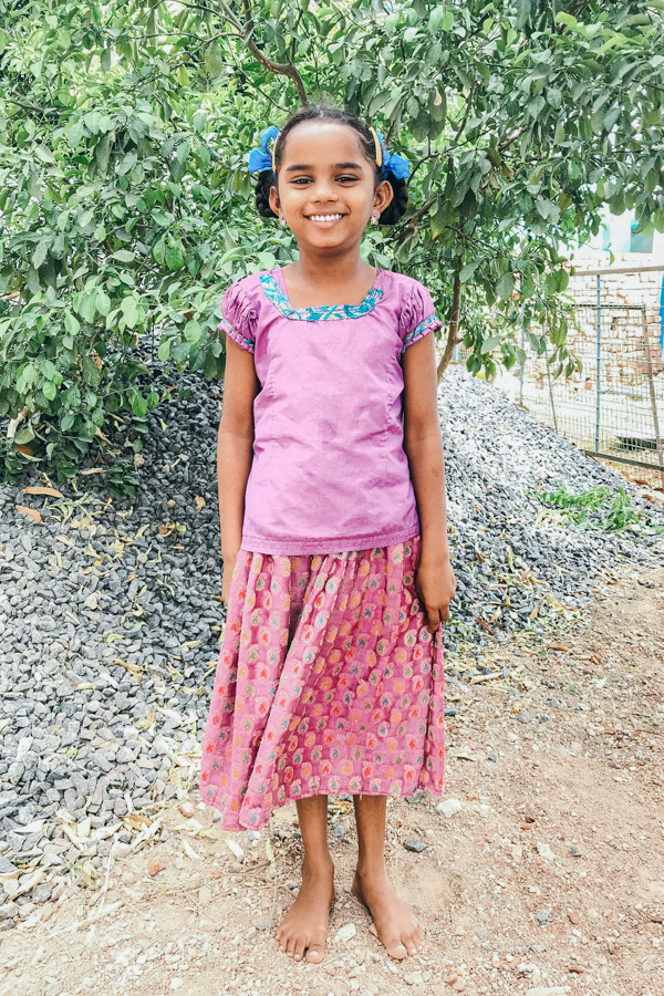 Sponsor Sangeetha from India
