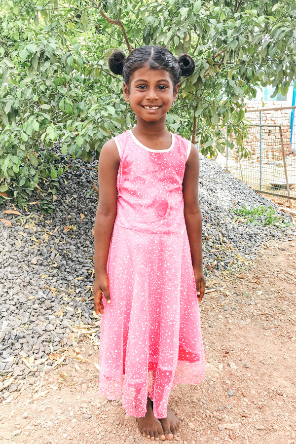 Sponsor Vyshnavi from India