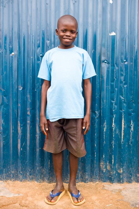 Sponsor Amos from Uganda