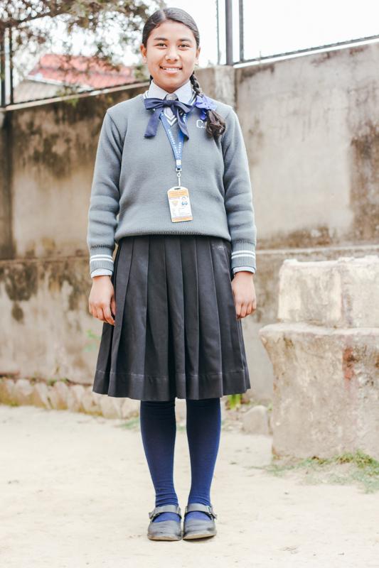 Sponsor Sujita from Nepal