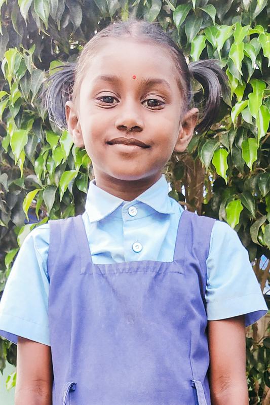 Sponsor Komali from India