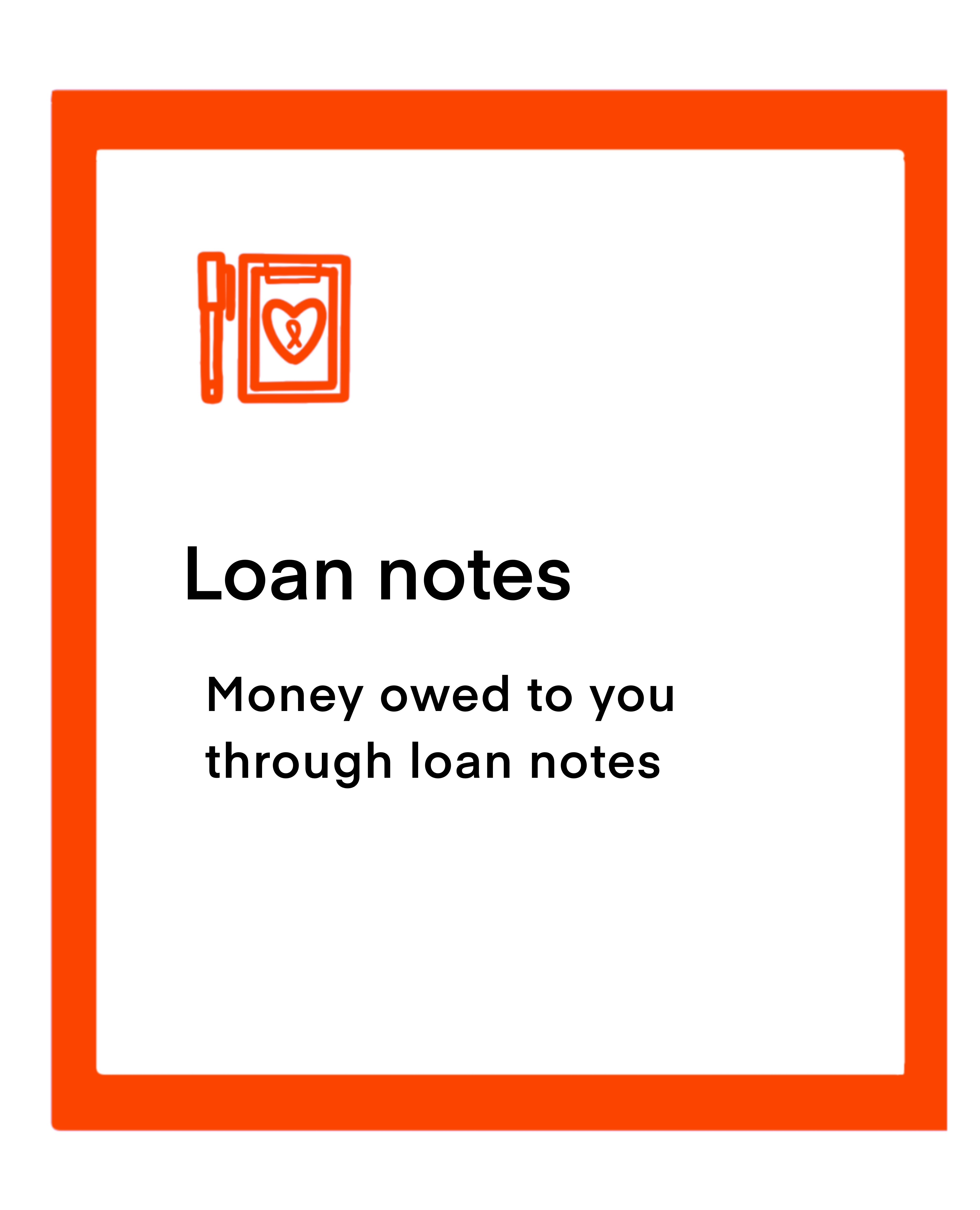 Loan notes