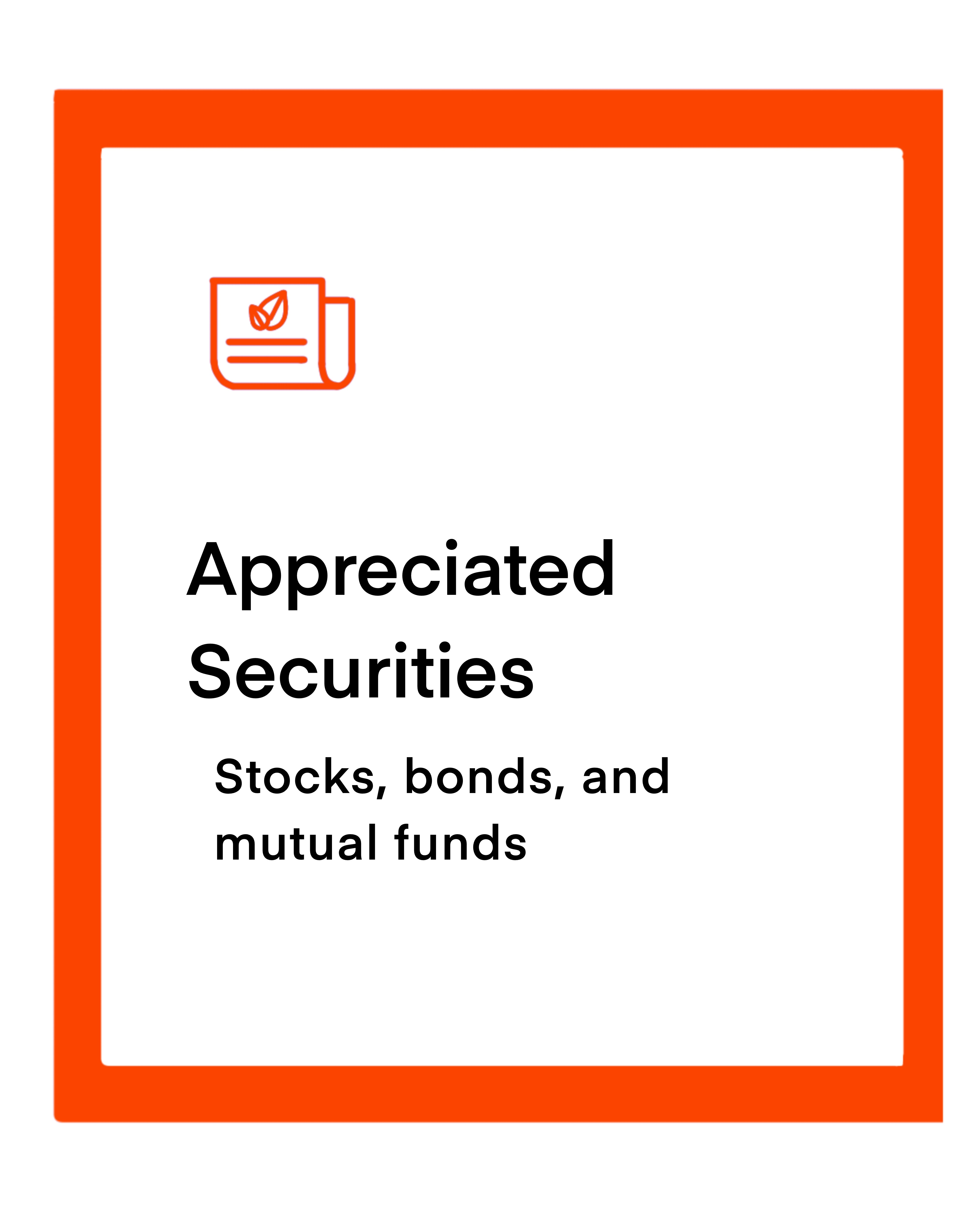 Appreciated Securities